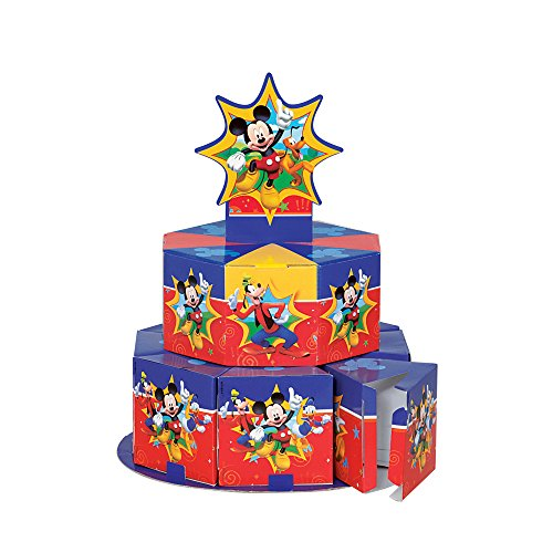 Mickey Mouse Clubhouse Favor Box Centerpiece Decoration for 8]()