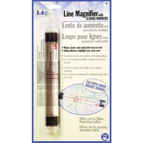 (LoRan LM-2 Line Magnifier with Sliding Markers)