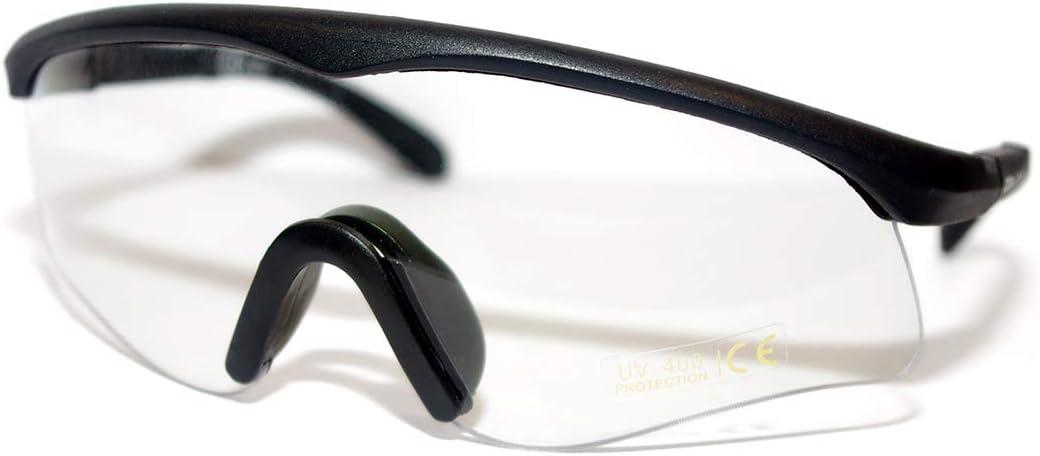 Cobra - Gafas tácticas para Airsoft, antiempañamiento y antiarañazos, Gafas Protectoras de Seguridad y Gafas balísticas, Gafas y Patas no Ajustables