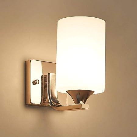 Seven Sons Lámpara de Pared Interruptor de Cuerda Lámpara de cabecera Minimalista Moderna Dormitorio lámpara Escalera del Pasillo Sala de Estar Lámpara de Pared Lámpara de Cuerda (Color : A): Amazon.es: Hogar