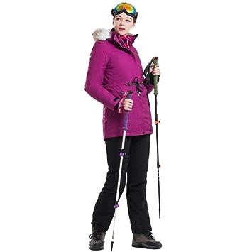 ZXGJHXF Nuevo Traje de esquí para Mujer Chaqueta Impermeable ...