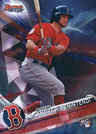 Verzamelkaarten: sport Honkbal 2017 Bowman's Best Refractor #14 Andrew Benintendi Boston Red Sox Baseball Card
