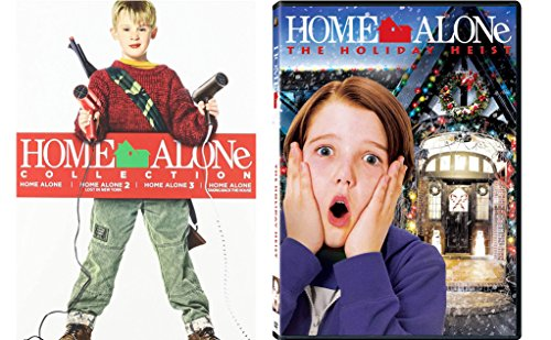 Home Alone Complete Collection (Home Alone/Home Alone 2: Lost in New York/Home Alone 3/Home Alone: Take Back the House/Home Alone Holiday Heist) 5-Movie Christmas Bundle ()