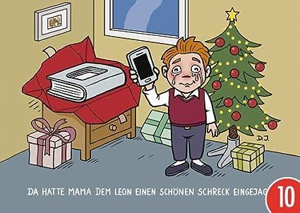 Pack de 10: Postal A6 + + + Navidad de Modern Times + + + EL Leon ...
