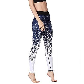 LQRR Pantalones de Yoga para Mujer Impreso Leggings ...