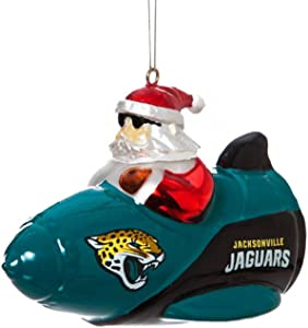 Evergreen NFL/MLB/NCAA Rocket Santa Hanging Ornament