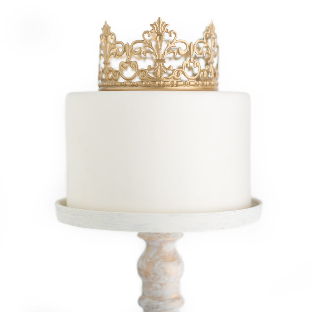 Amazon Gold Crown Cake Topper Vintage Crown Small Gold