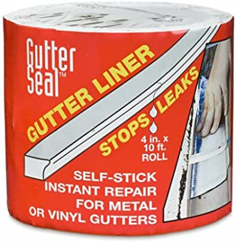 Amazon Com Gutter Seal Gutter Seal Liner Aluminum 4 X 10 Home Improvement