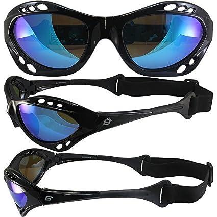 Amazon.com : Shiny Black Frame Floating Water Sport Jet Ski ...