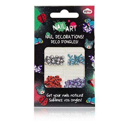 NPW-USA Nail Art Decorations, Creatures