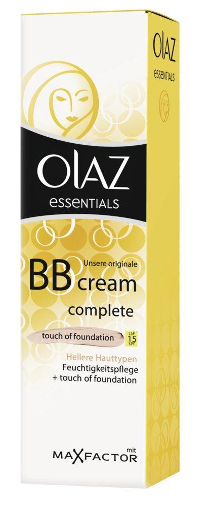 Olaz Essentials Complete Bb Creme Tof Hell 50 Ml Amazonde Beauty