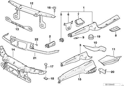 BMW Genuine Front Left N//S Stabiliser Bar Support 3 Series Z3 E36 41118151121
