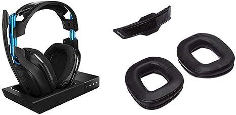 ASTRO Gaming A50 - Auriculares con micrófono inalámbricos y Estación Base, Negro/Azul + Gaming - Astro A50 Mod Kit inalámbrico 3ª generación para Aislamiento de Ruido, Negro: Amazon.es: Informática