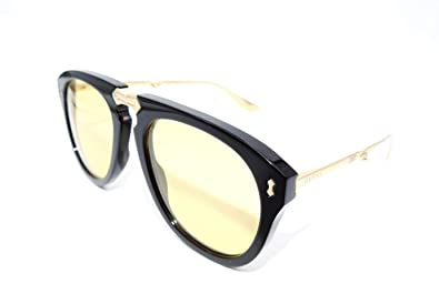 2b683b3f4962a Image Unavailable. Image not available for. Color  Authentic GUCCI Folding  Black Sunglasses ...