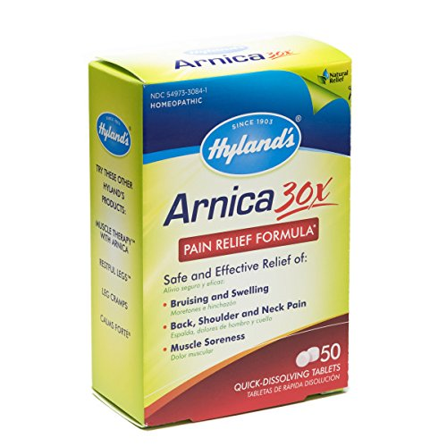Hylands-Arnica-Tablets-30X-Natural-Homeopathic-Relief-of-Bruising-and-Pain-50-Count