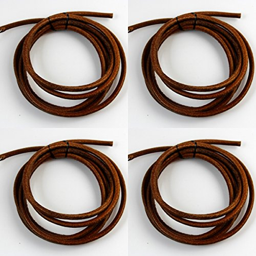 """CHENGYIDA 4 - PACK (70"""" Long, 3/16""""Thickness) Leather Bel..."""
