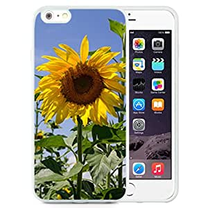 Fashionable Designed Cover Case For iPhone 6 Plus 5.5 Inch With Sunflower Flower Mobile Wallpaper 3 (2) Phone Case