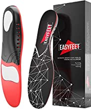 Plantar Fasciitis Arch Support Insoles for Men and Women Shoe Inserts - Shoe insoles women - Flat Feet - Runni