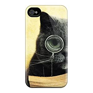 Hard Plastic Samsung Galasy S3 I9300 Cases Back Covers,hot British Cat With A Monocle Cases At Perfect Customized