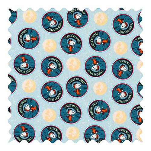36 x 44 SheetWorld 100/% Cotton Percale Fabric by The Yard Care Bears Blue