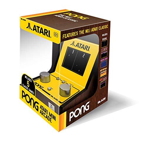 (Atari Pong Mini Arcade (with 5 retro games) (Electronic Games))