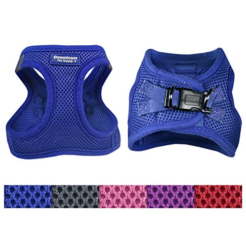 UPC 734009096435, Best No Pull, Step in Adjustable Dog Harness with Padded Vest, Easy to Put on Small, Medium and Large Dogs (Blue, L)