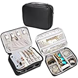 Best Travel Smart Bags For Travels - Teamoy Travel Jewelry Organizer Case, Storage Bag Holder Review