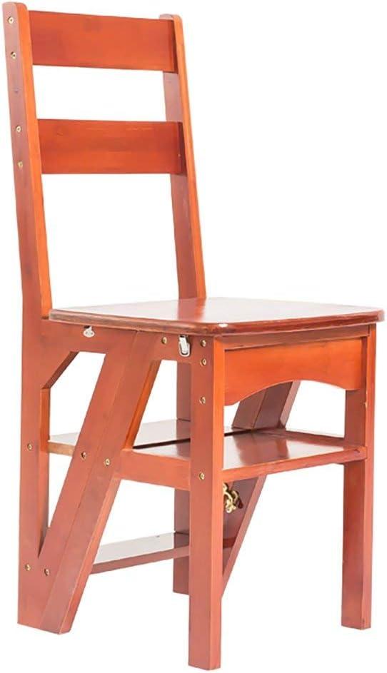 Jingbiao Silla para escaleras Escalera para el hogar Silla Plegable Escalera Taburete Multifuncional Creativa Silla Doble - Taburete pequeño (Color : C): Amazon.es: Hogar
