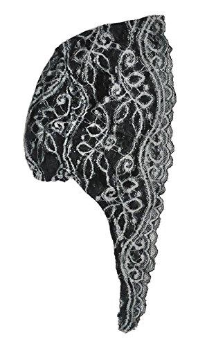 Black Grey Under Hijab Bonnet