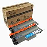 V4INK ® New Compatible Brother 2 Pack TN780 Toner cartridge for Brother HL-6100 Series:HL-6180DW/6180DWT MFC-8950DW/8950DWT, Office Central