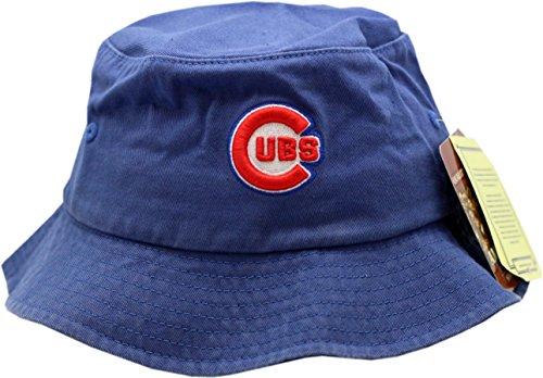 5f3fcc62af2 Chicago Cubs Bucket Hat Blue Bullseye Logo