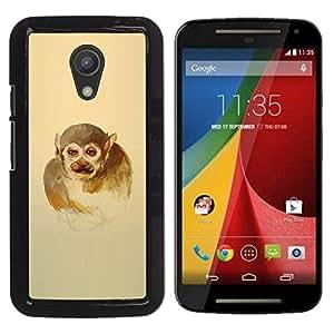 iKiki Tech / Estuche rígido - Monkey Man - Motorola G 2ND GEN II