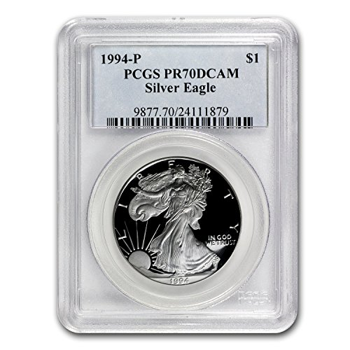 1994 P Proof Silver American Eagle PR-70 PCGS (Registry Set) PR-70