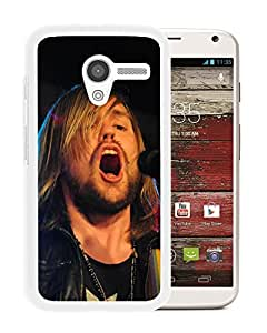 Beautiful Designed Cover Case With Band Of Skulls Mouth Show Microphone Light (2) For Motorola Moto X Phone Case