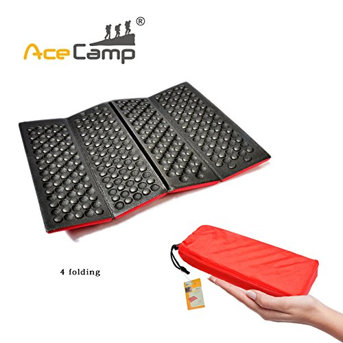 AceCamp Portable Sitting Pad, Red