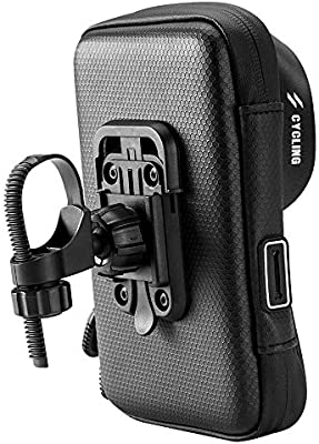 Amazon.com : MIGHTYDUTY Bicycle Mobile Phone Bracket Bag ...