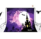LB 7x5ft Halloween Vinyl Photography Backdrop Customized Photo Background Studio Prop WSJ323