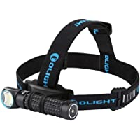 Olight Perun 2000 Lumens Magnetic USB Rechargeable Headlamp with Head Strip, Powered by Customized 18650 3500mAh Battery