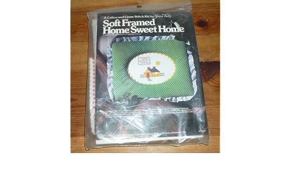 Home Sweet Home de tacto suave cojín de punto de cruz Kit ...