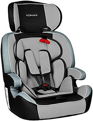 XOMAX XM-K3 + silla de coche para niños + Grupo I/II/III (9-36 kg ...