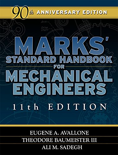 Marks' Standard Handbook for Mechanical Engineers Pdf