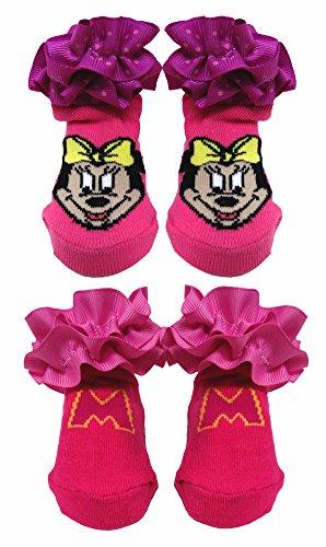 Disney Minnie Mouse 2 Pack De Chaussettes À Volants