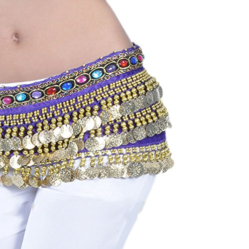 AvaCostume Belly Dance Jewelry Dangling