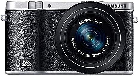 Samsung NX3000 - Cámara EVIL de 20.3 Mp (pantalla 3 ...