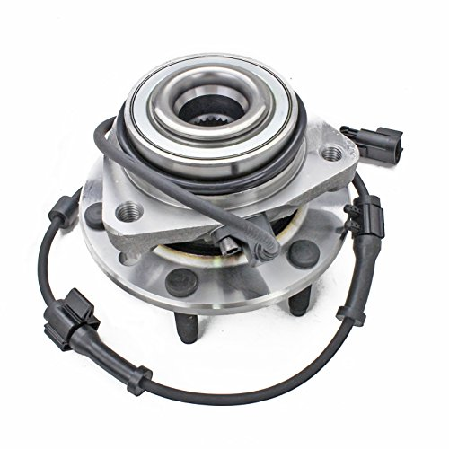 513188 Wheel Bearing Hub Assembly, Front Left/Right, for 02-09 Chevy Trailblazer (EXT)/ 02-07 SSR, GMC Envoy (XL) Denali/XUV, 03-08 Isuzu Ascender, 04-07 Buick Rainier, 02-04 ldsmobile Bravada ()