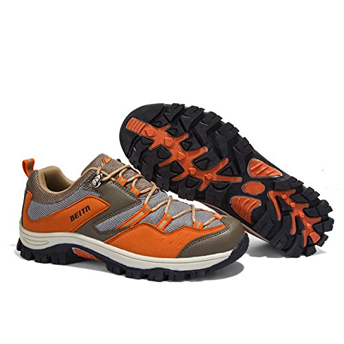 8f065fa798124 Barato Zapatos De Trekking para Hombres Impermeables para Caminar Calzado  Antideslizante De Senderismo Calzado Deportivo Al