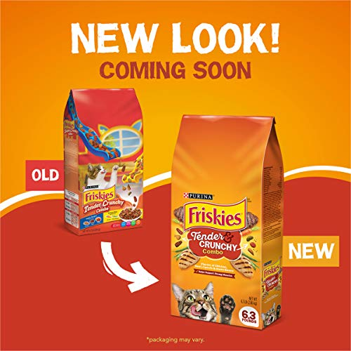 Purina Friskies Tender & Crunchy Combo Adult Dry Cat Food 8