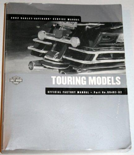 2002 Harley-Davidson Service Manual:  Touring Models, 1450 cc 5-Speed Models (Motorcycle Custom Wiring)