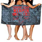 HONGYUDE Choose Your Weapon Gaming Console Game 100% Polyester Velvet Absorbent Bath Towel 31 X 51 inches