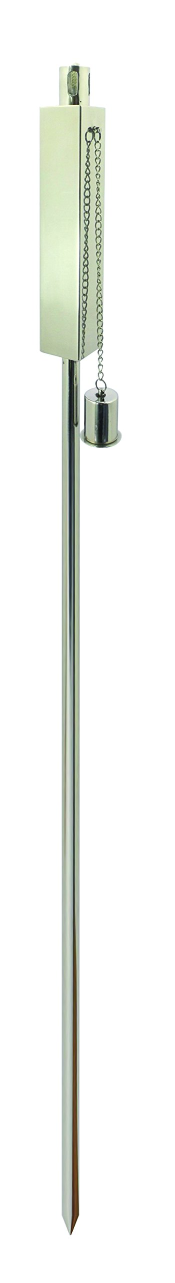 Anywhere Torch -Polished Stainless Rectangle (2 pk)